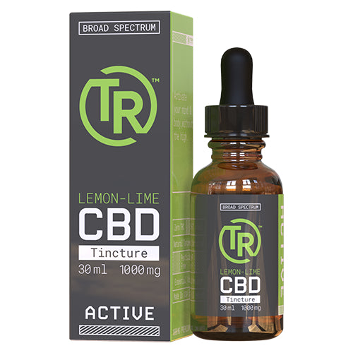 Lemon-Lime Broad Spectrum CBD Tincture