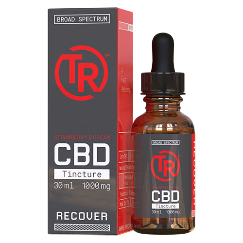 Strawberry & Cream Broad Spectrum CBD Tincture