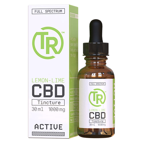 Lemon-Lime Full Spectrum CBD Tincture