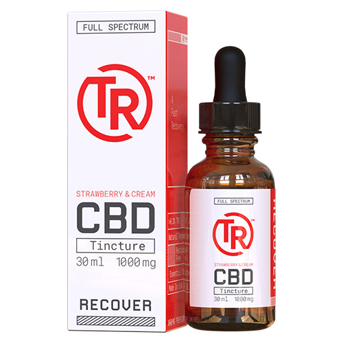 Strawberry & Cream Full Spectrum CBD Tincture