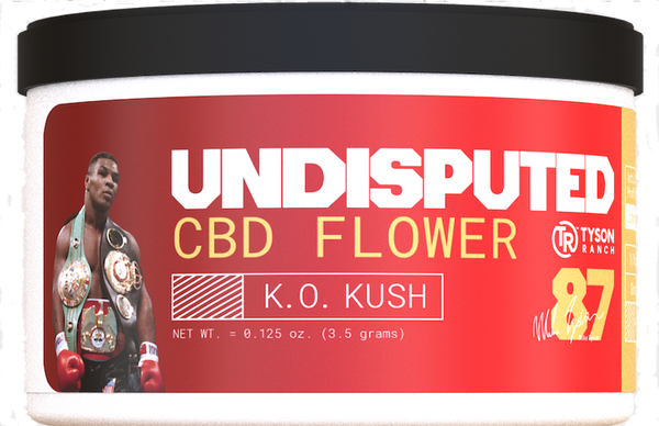 Tyson Ranch Undisputed CBD Flower KO Kush 3.5 grams