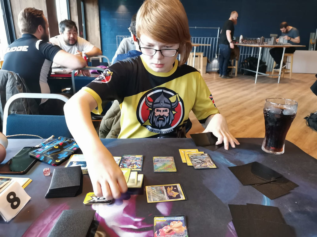 Karys Belfield Playing Pokemon TCG