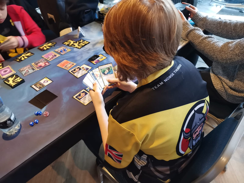 Karys Playing Pokemon at an Event