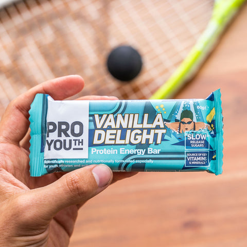 proyouth vanilla delight nutritional performance bar