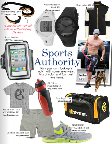Sports Authority article