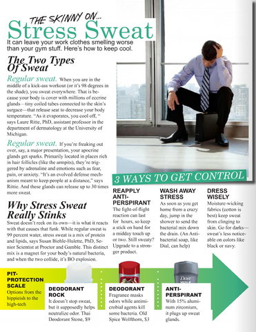 The Skinny on Stress Sweat