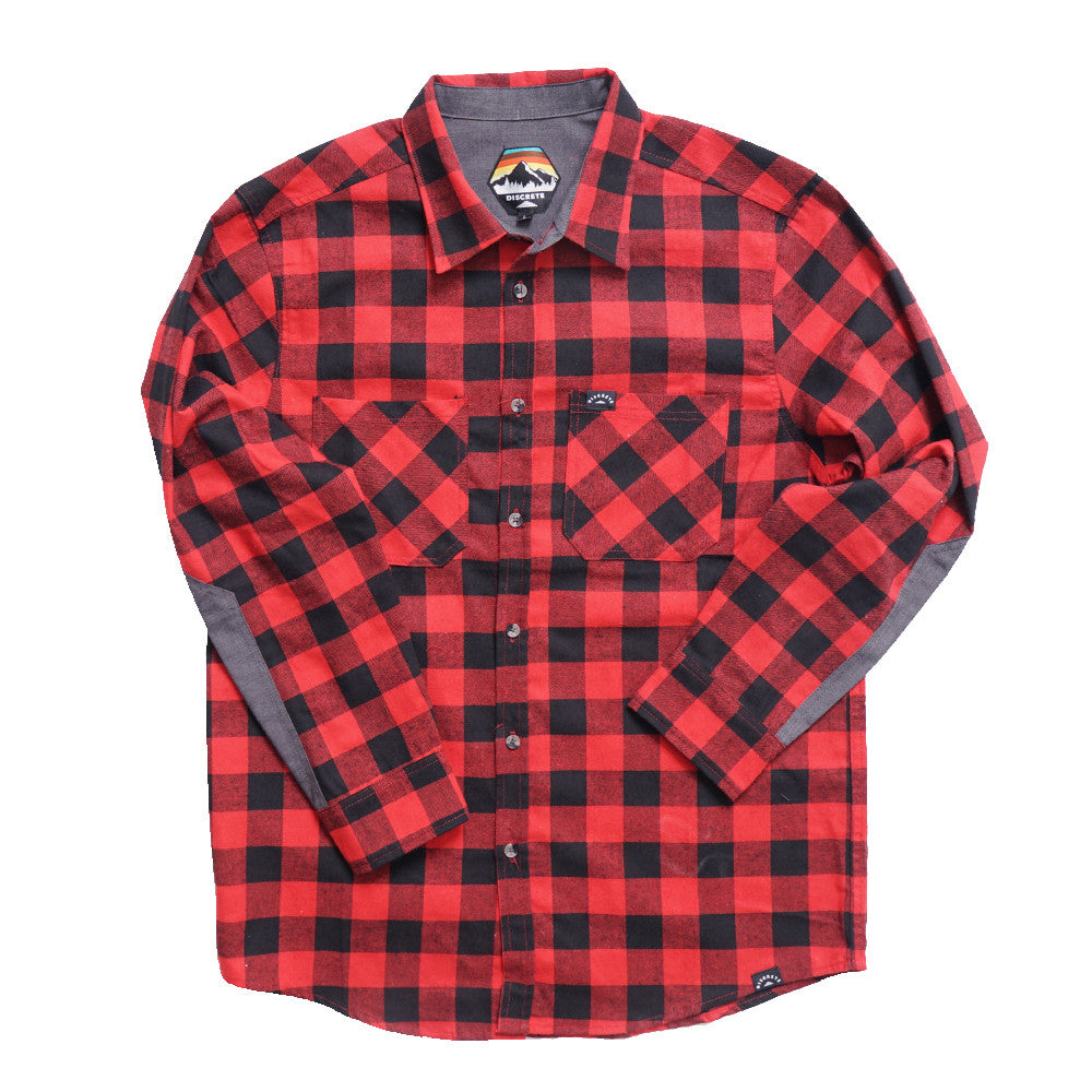 4d727717 Discrete ARRAY Mens Flannel – Discrete Clothing