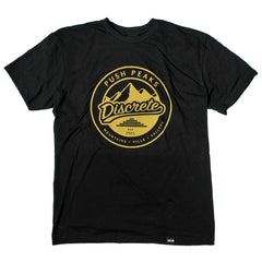Mens T-Shirts - Push Peaks Black