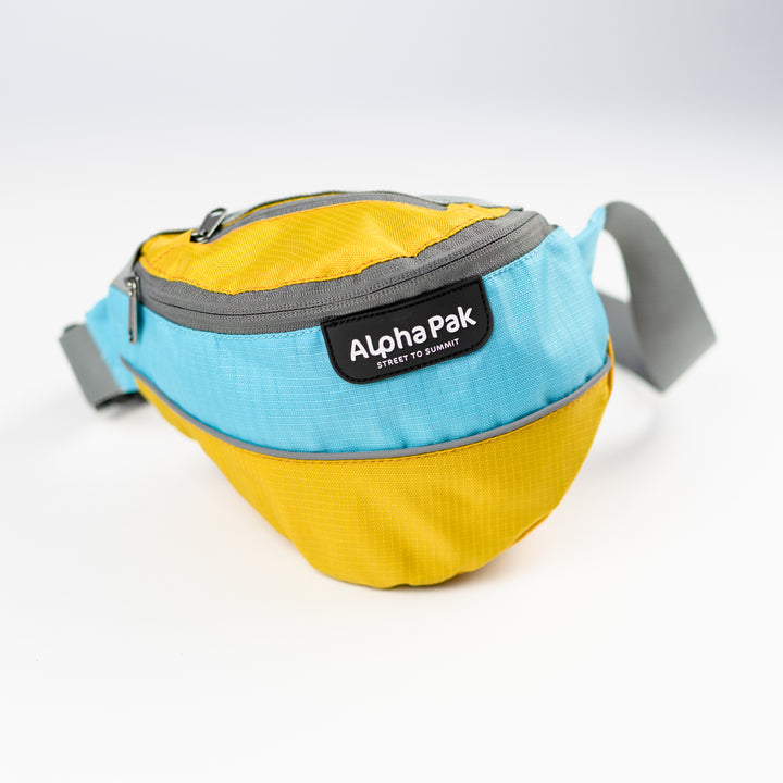 Adventurer Hip Pack Blue and Yellow