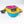 Load image into Gallery viewer, Blue Pink Yellow and Gray Wanderer Hip Fanny Pack