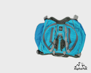 Pathfinder Blue Dog Pack with EZ Fit Harness