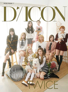 "Dicon vol.7 TWICE Photobook ""YOU ONLY LIVE ONCE"" JAPAN EDITION"