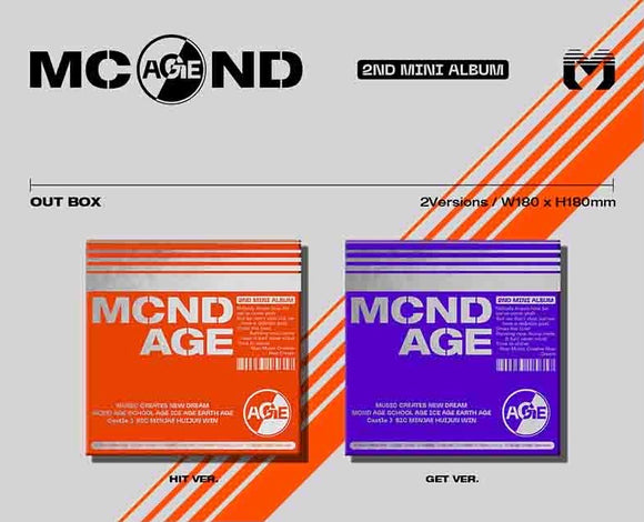 MCND - Mini Album Vol. 2 [MCND AGE]