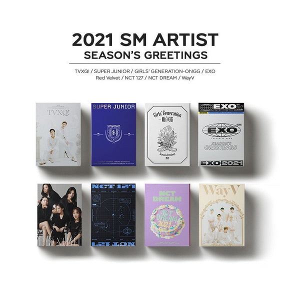 SM ARTIST SEASON GREETING