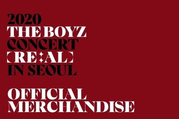 2020 The Boyz Concert [RE:AL] IN SEOUL OFFICIAL MERCHANDISE