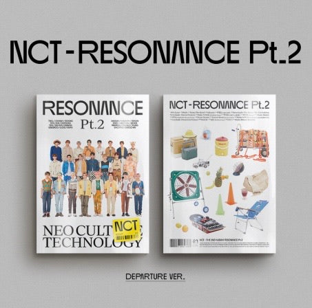 NCT - Album Vol.2 [The 2nd Album RESONANCE Pt.2] (Departure Ver.)