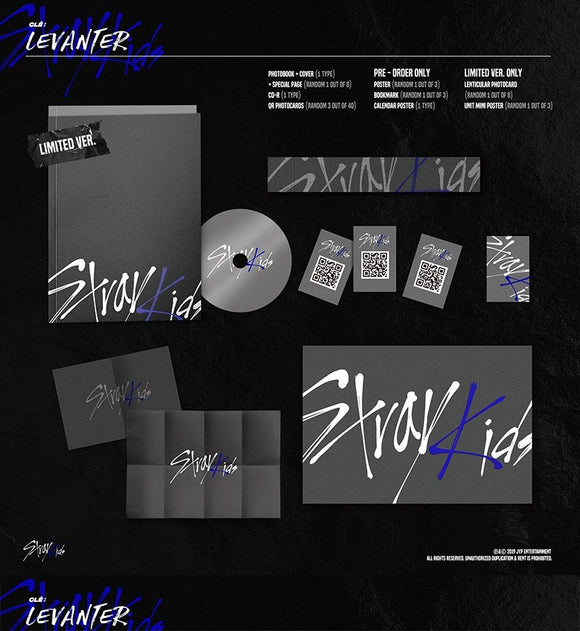[Instock] Stray Kids - Mini Album [Clé : LEVANTER] (Limited Edition)