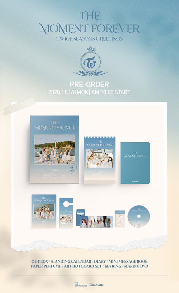 TWICE 2021 SEASON'S GREETINGS - THE MOMENT FOREVER