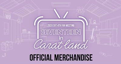 2020 SEVENTEEN IN CARATLAND Official Merch