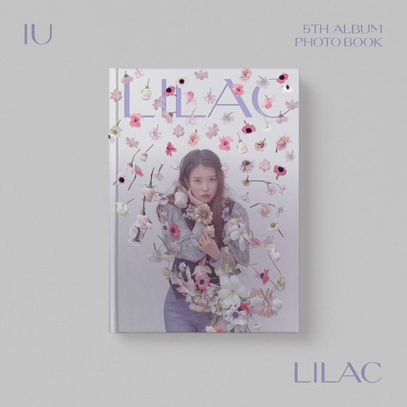 IU LILAC PHOTO BOOK / POSTER SET