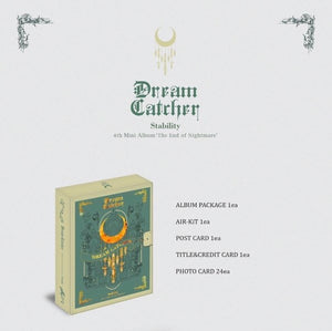 DREAMCATCHER - Mini Album Vol.4 [The End of Nightmare] (Kit Album)