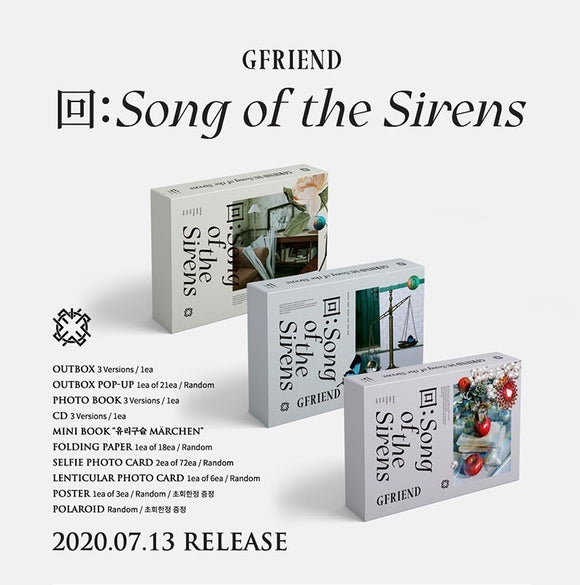 GFRIEND - Album [回:Song of the Sirens]