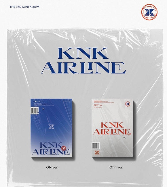 KNK - Mini Album Vol.3 [KNK AIRLINE]