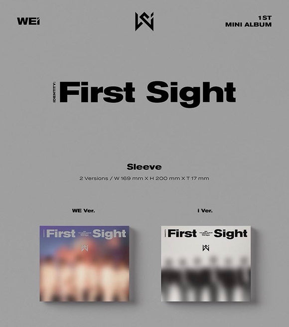 WEi - Mini Album Vol.1 [IDENTITY : First Sight]