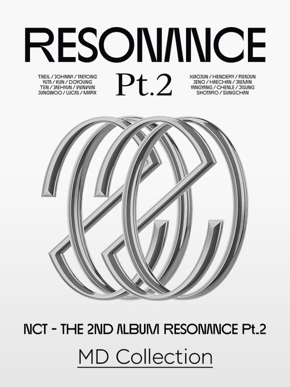 NCT - The 2nd Album RESONANCE Pt. 2 Official Merchandise