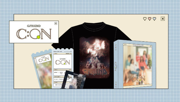 GFRIEND G C:ON Official Merch