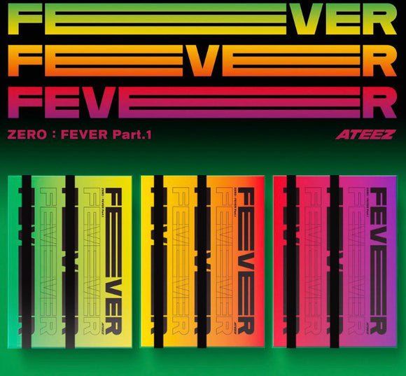ATEEZ - Mini Album Vol.5 [ZERO : FEVER Part.1]