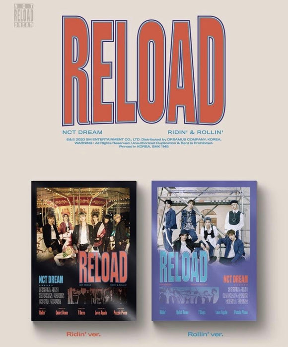 NCT DREAM - Album [Reload]