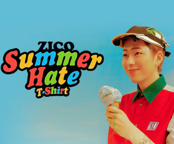 ZICO-Summer Hate T-Shirt