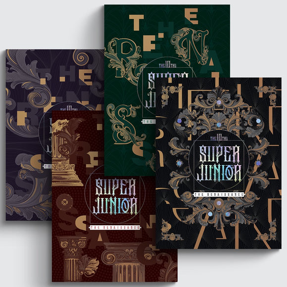 SUPER JUNIOR - Album Vol.10 [The Renaissance]