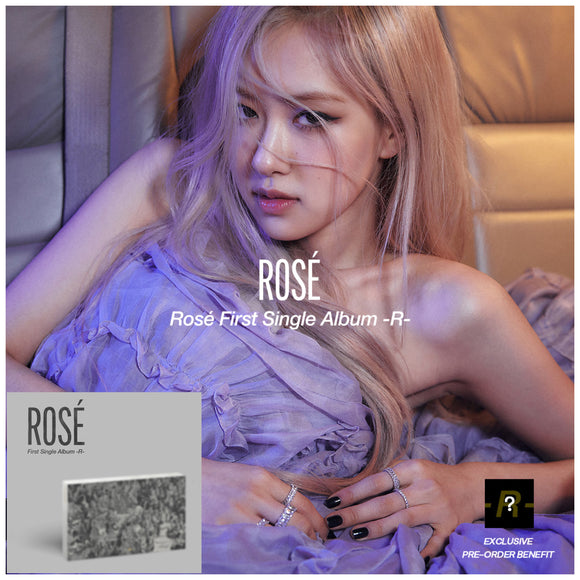 BLACKPINK Rosé - Rose First Single Album -R-