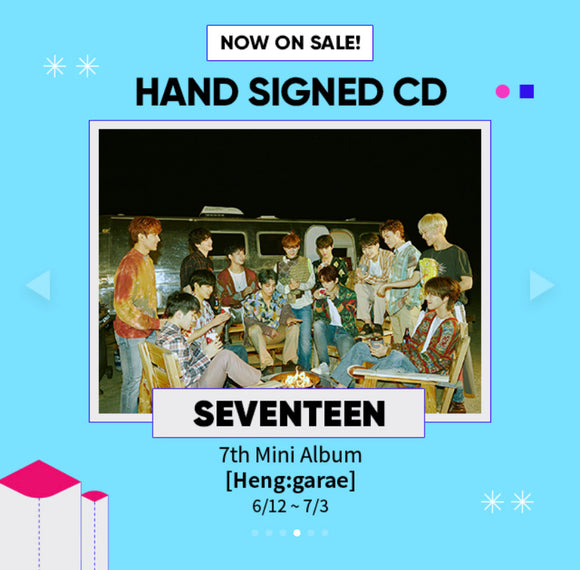 [MAVE SIGNED] SEVENTEEN - 7th Mini Album [Heng:garae]