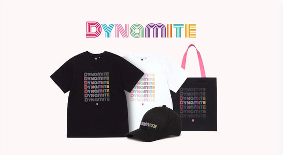 BTS Dynamite Official Merch Collection