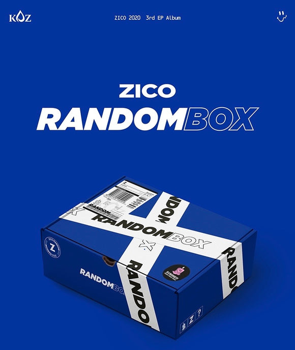ZICO - Mini Album Vol.3 [RANDOM BOX]