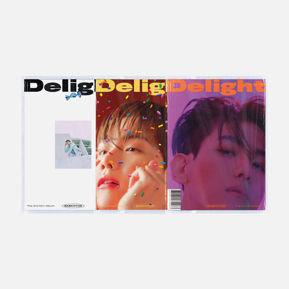 BAEK HYUN - Mini Album Vol.2 [Delight]