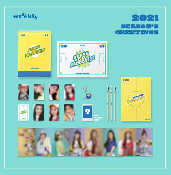 Weeekly 2021 Season's Greetings : Ready Go Weeekly!