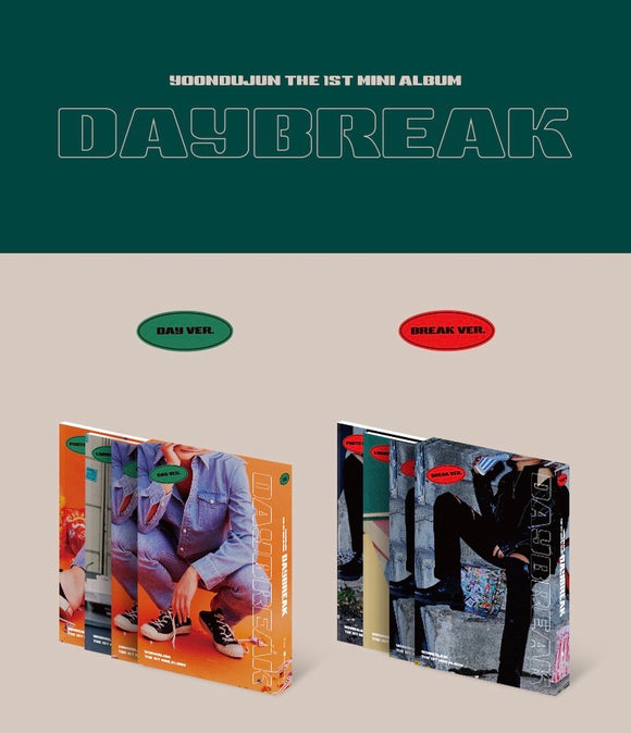 Yoon Doo Jun - Mini Album Vol.1 [Daybreak]