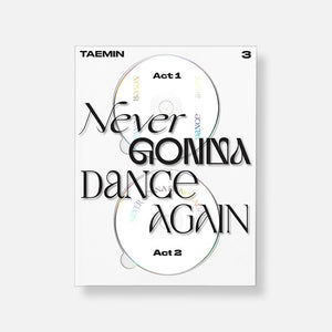 TAEMIN - Album Vol.3 [Never Gonna Dance Again] (Extended Ver.)