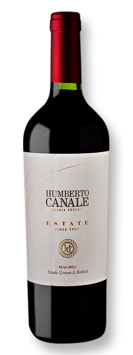Humberto Canale Estate Malbec 2018 750 mL - Grand Cru Vinhos