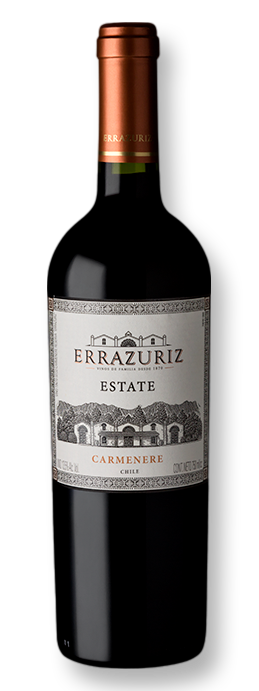 Errazuriz Estate Series Carmenere Reserva 2018 750 mL - Grand Cru Vinhos