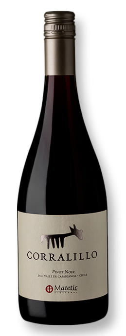 Matetic Corralillo Pinot Noir 2017 750 mL - Grand Cru Vinhos