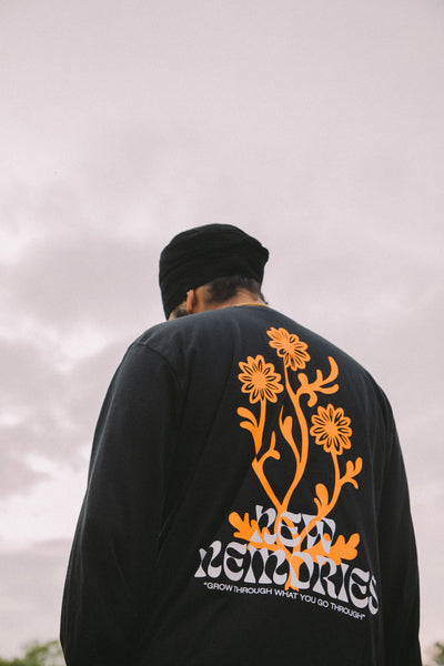 Fateh - New Memories - Black Long Sleeve Tee