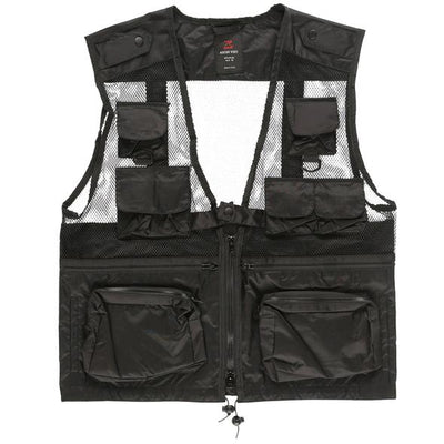 Rootsgear - Military Utility Vest - Black