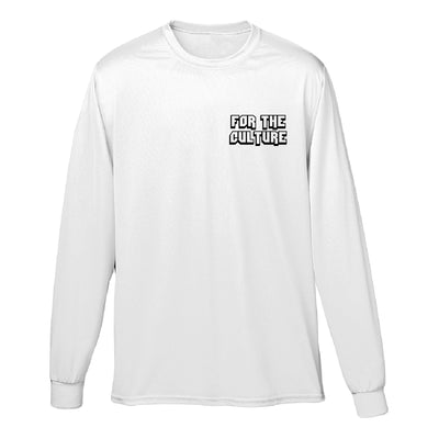Rootsgear - For the Culture - White Long Sleeve Tee