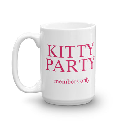 Kitty Party - Coffee Mug