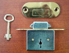 Roll-top Desk Lock